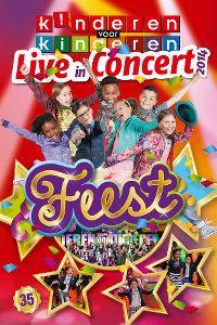 Cover Kinderen Voor Kinderen - Live In Concert 2014 - Feest 35 [DVD]
